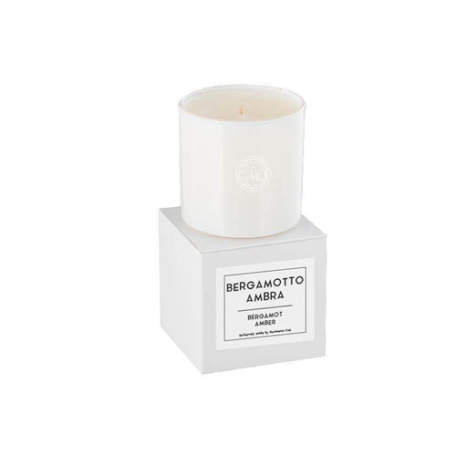 Linea Lusso Collection - 6.5 oz soy candle - Bergamot Amber - CaliCosmetics.com