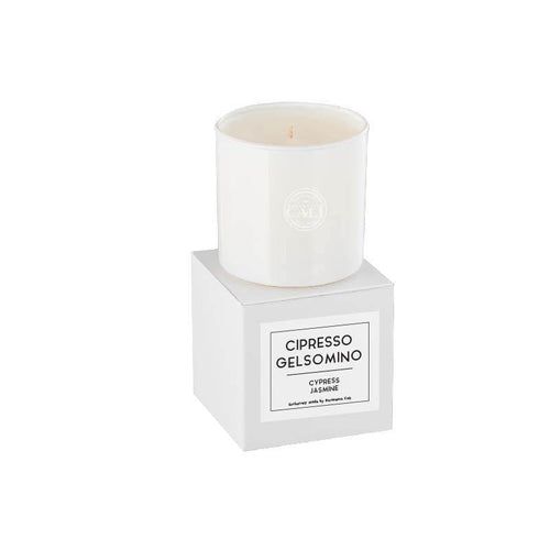 Linea Lusso Collection - 6.5 oz soy candle - Cypress Jasmine - CaliCosmetics.com