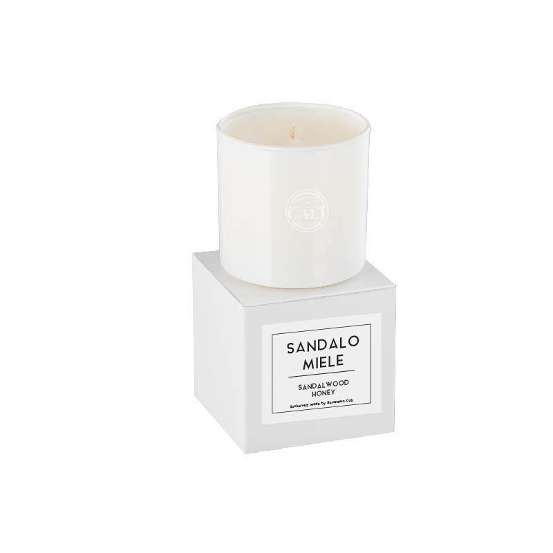Linea Lusso Collection - 6.5 oz soy candle - Sandalwood Honey - CaliCosmetics.com