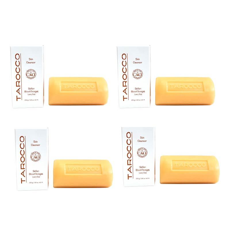 Tarocco 8.8 oz Soap - 4 pack (no exfoliant)