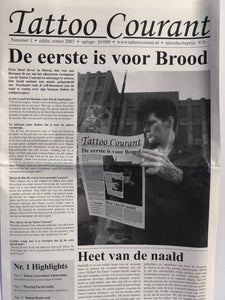''Herman Brood'' in Tatttoo Courant 2007