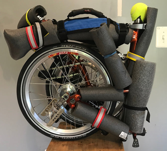 Brompton as Carry-On Luggage