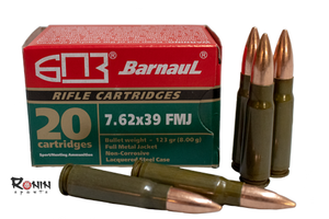 Ammunition Rifle: 7.62x39, 123gr FMJ -20 in box