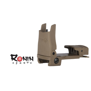 MFT Polymer Front Flip Up Sight