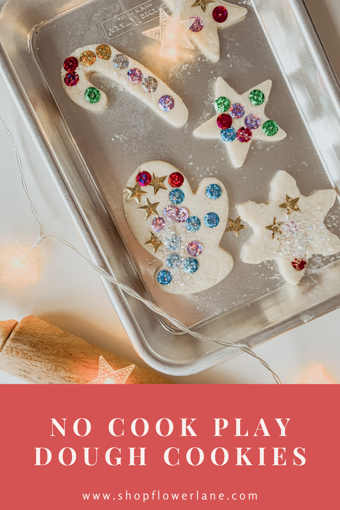 No Cool Play Dough Cookies | Toddler Play Dough | Christmas Activities for Toddlers and Kids