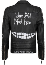 Load image into Gallery viewer, Elmo Hood - Leather Jacket