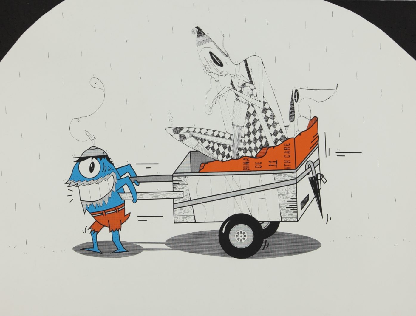 Streetlover by PEZ in collaboration with Alex Senna