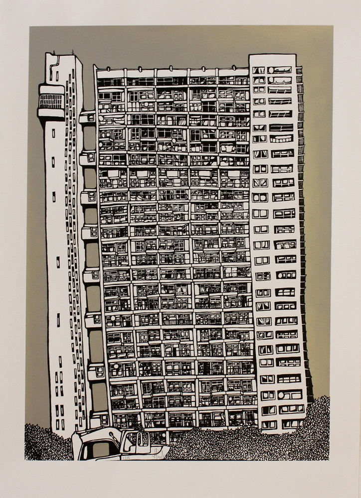 Trellick Tower Silver