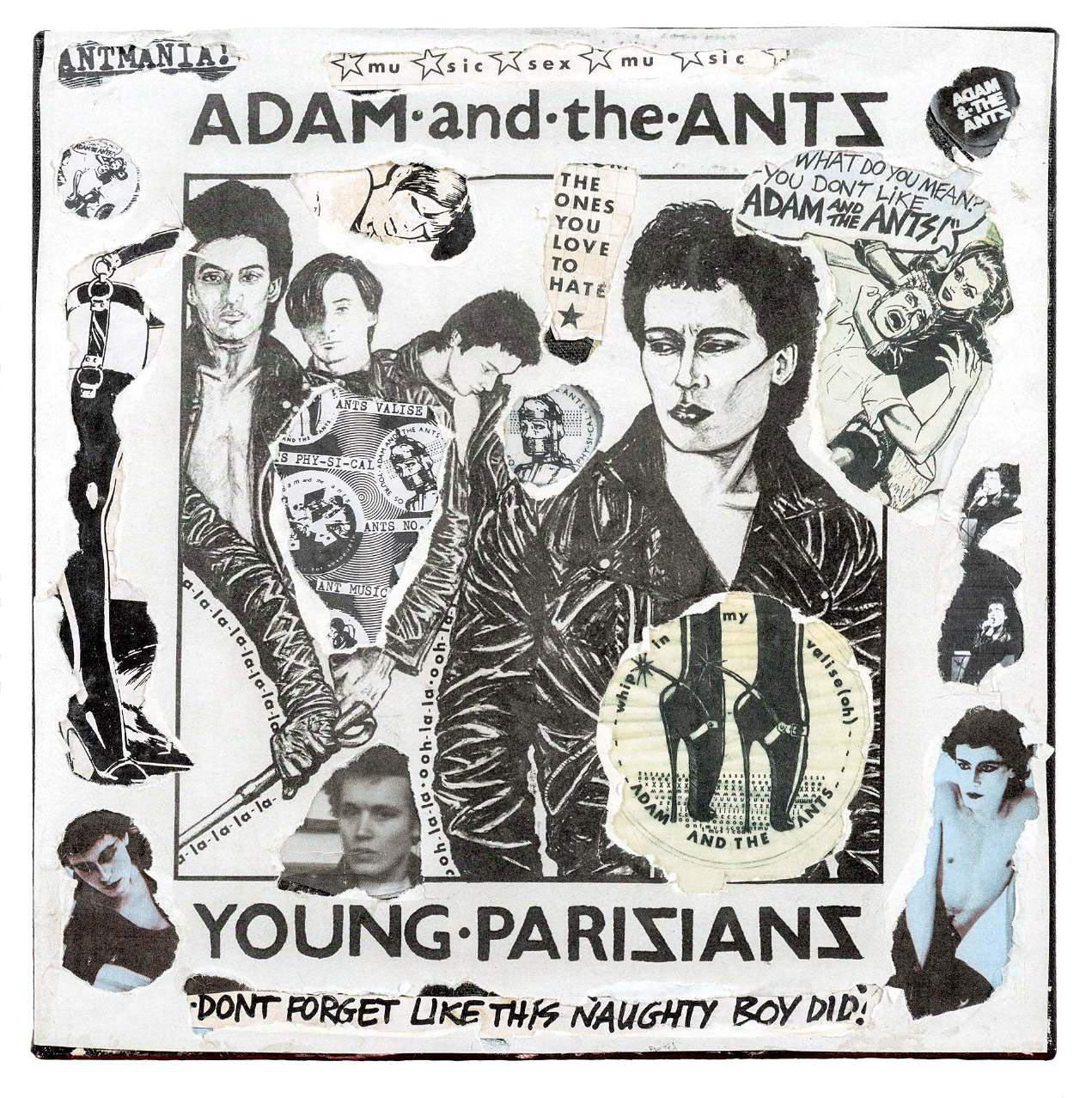 Adam and The Ants - Young Parisians Decollage