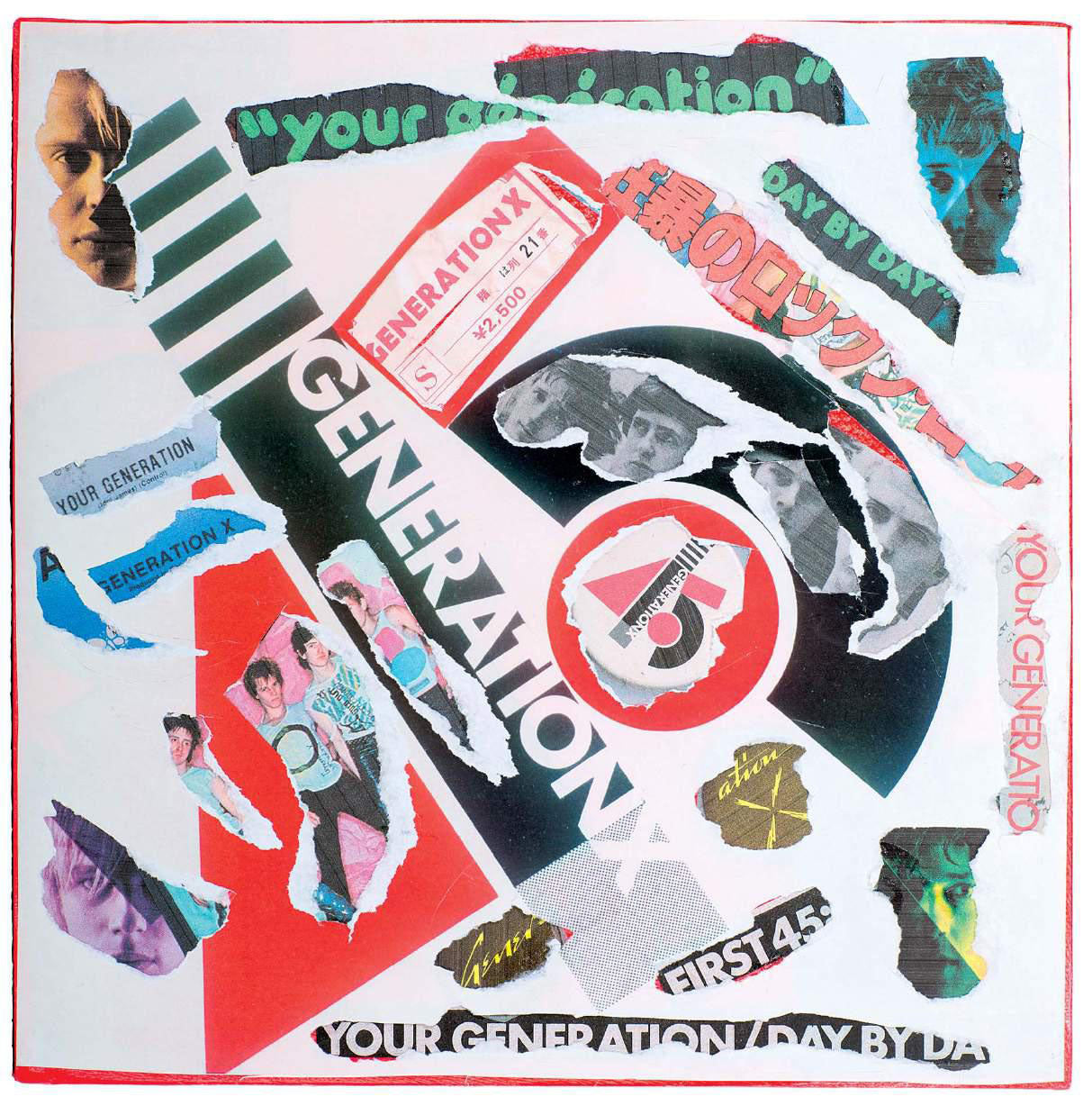 Generation X - Your Generation Decollage