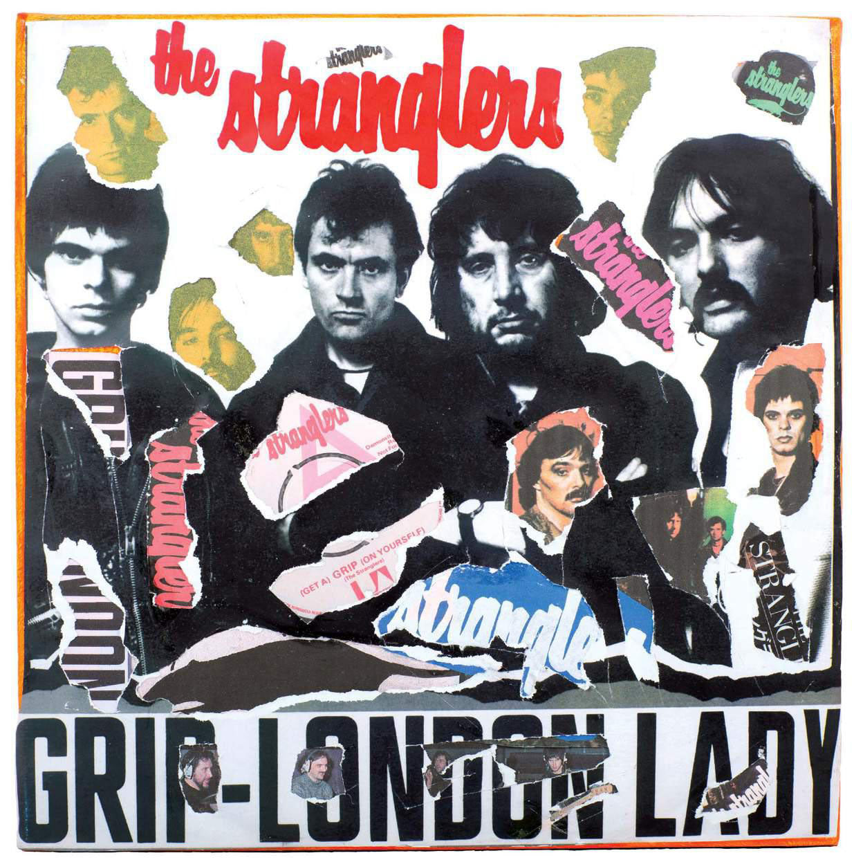 The Stranglers - Grip/ London Lady Decollage