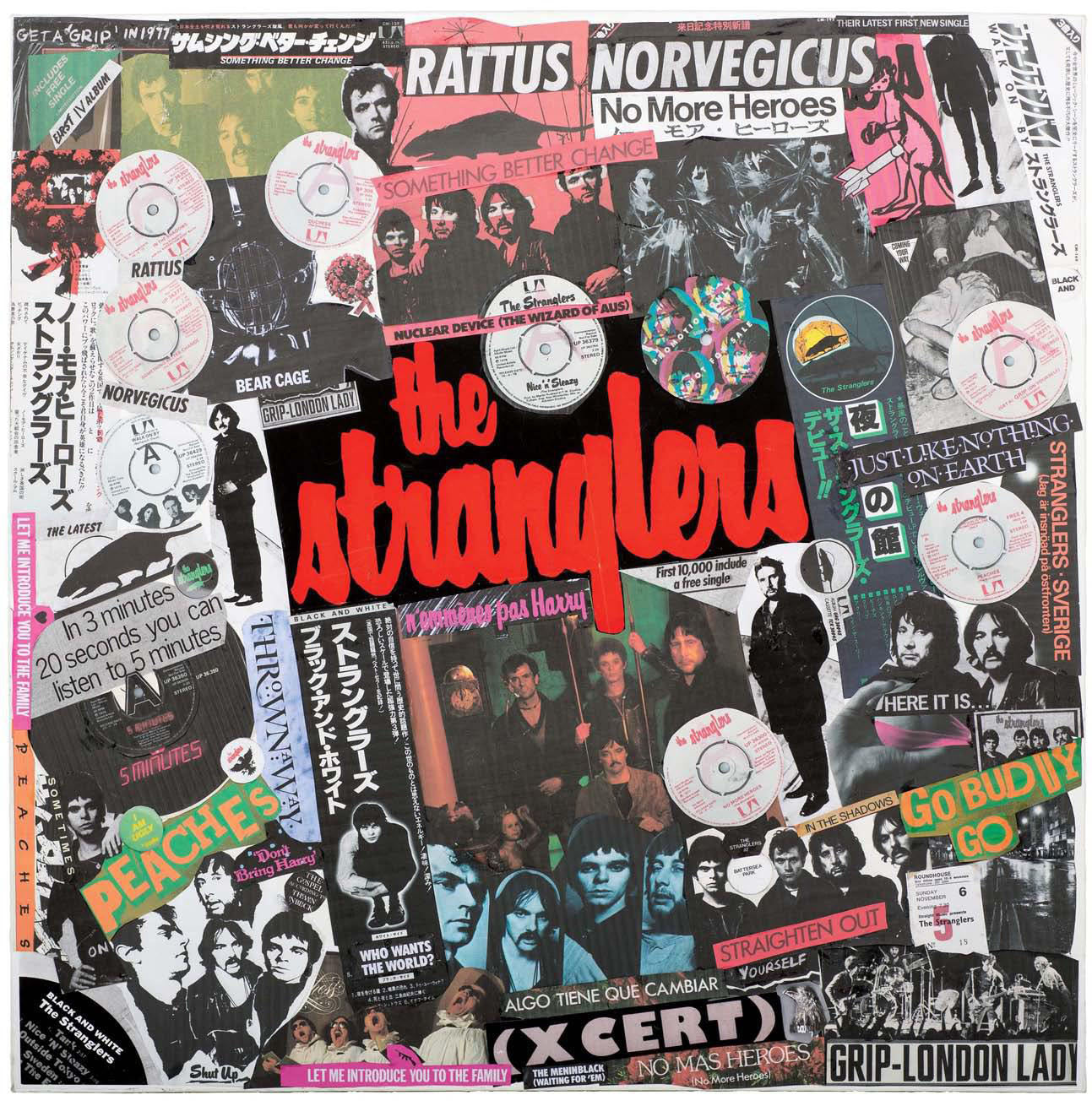 The Stranglers Collage