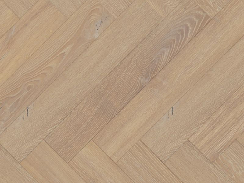 Lignum Fusion Desert Oak 12mm Herringbone Laminate Flooring  £24.95m2