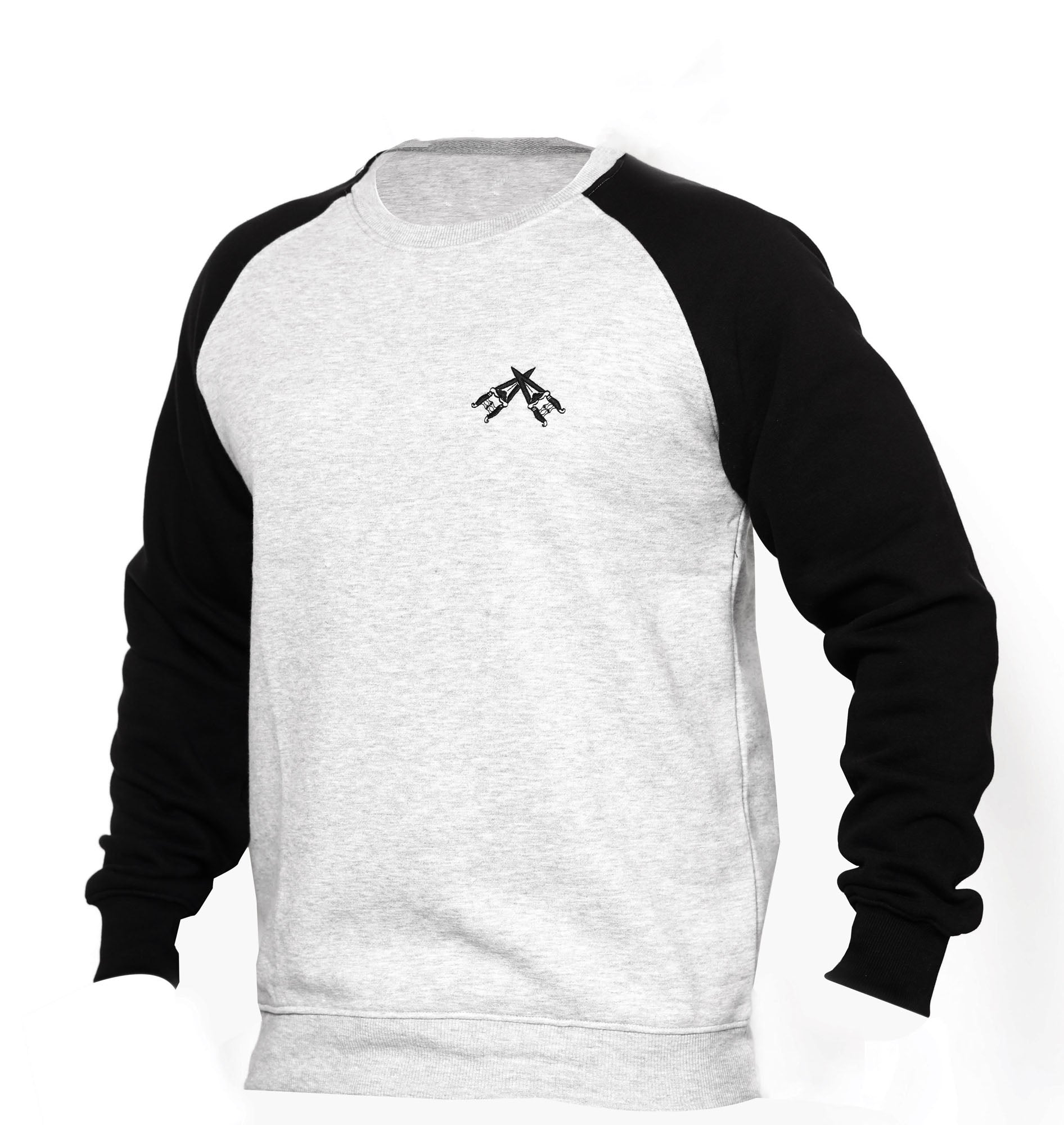 Grey & Black Sweatshirt