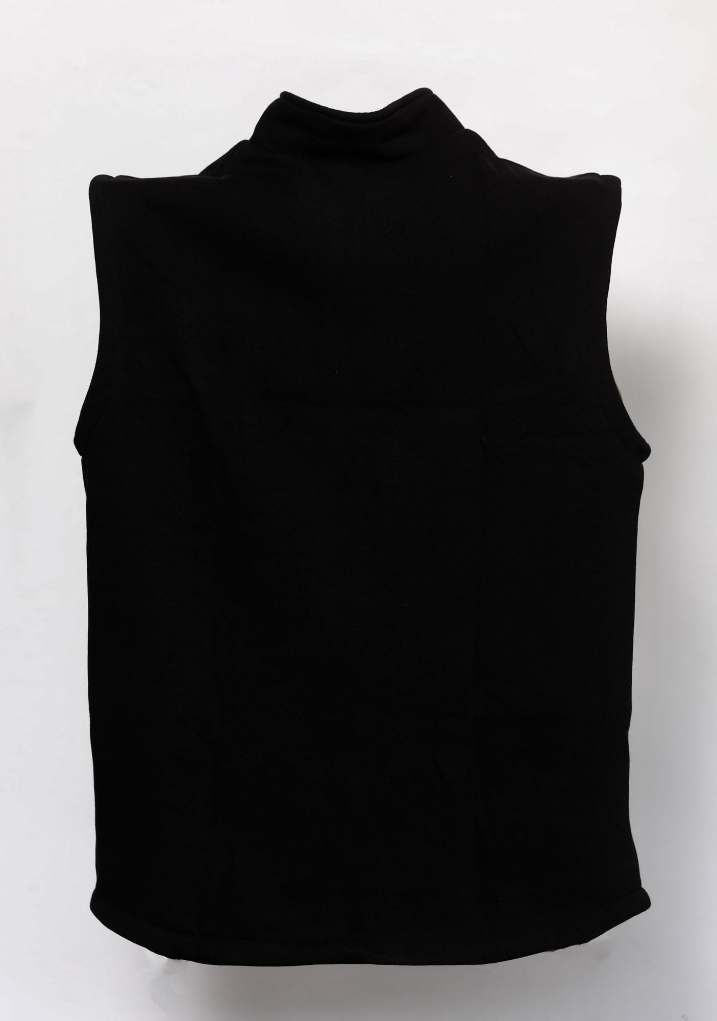 Black Sleeveless Fleece