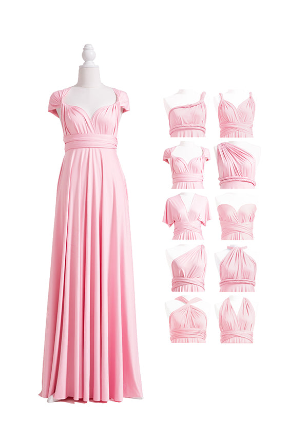 Blush Pink Multiway Infinity Dress