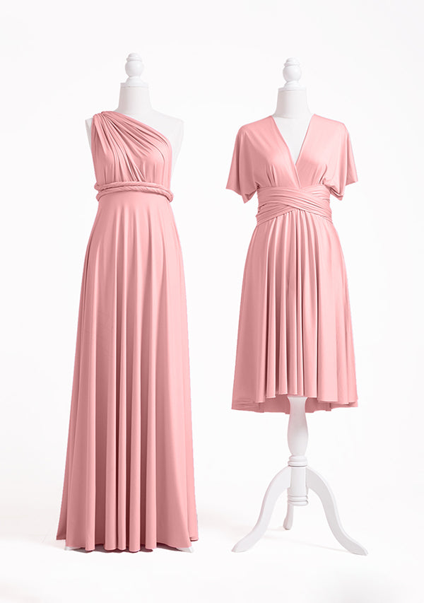 Dusty Rose Multiway Infinity Dress