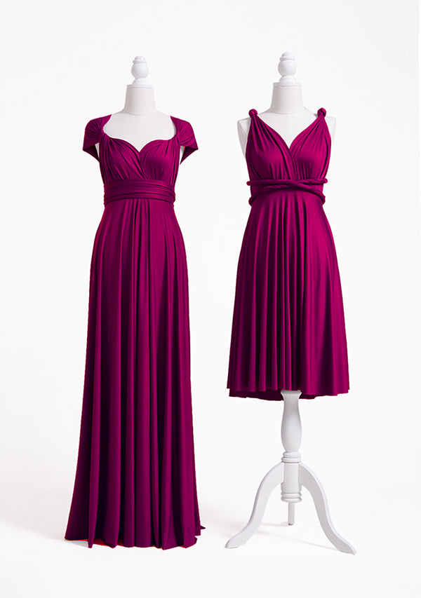 Plum Multiway Infinity Dress