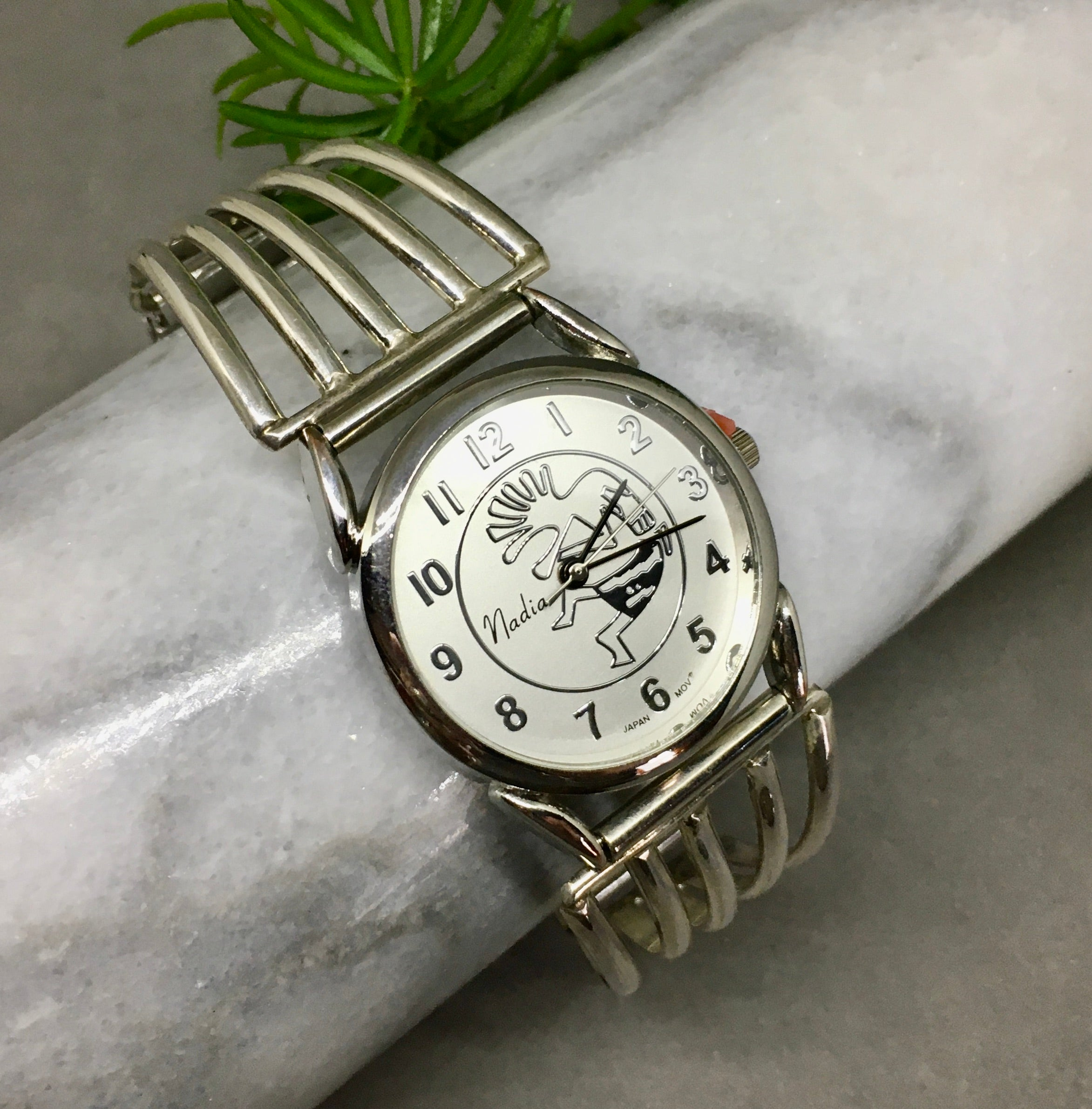 FIVE ARC SILVER WATCH