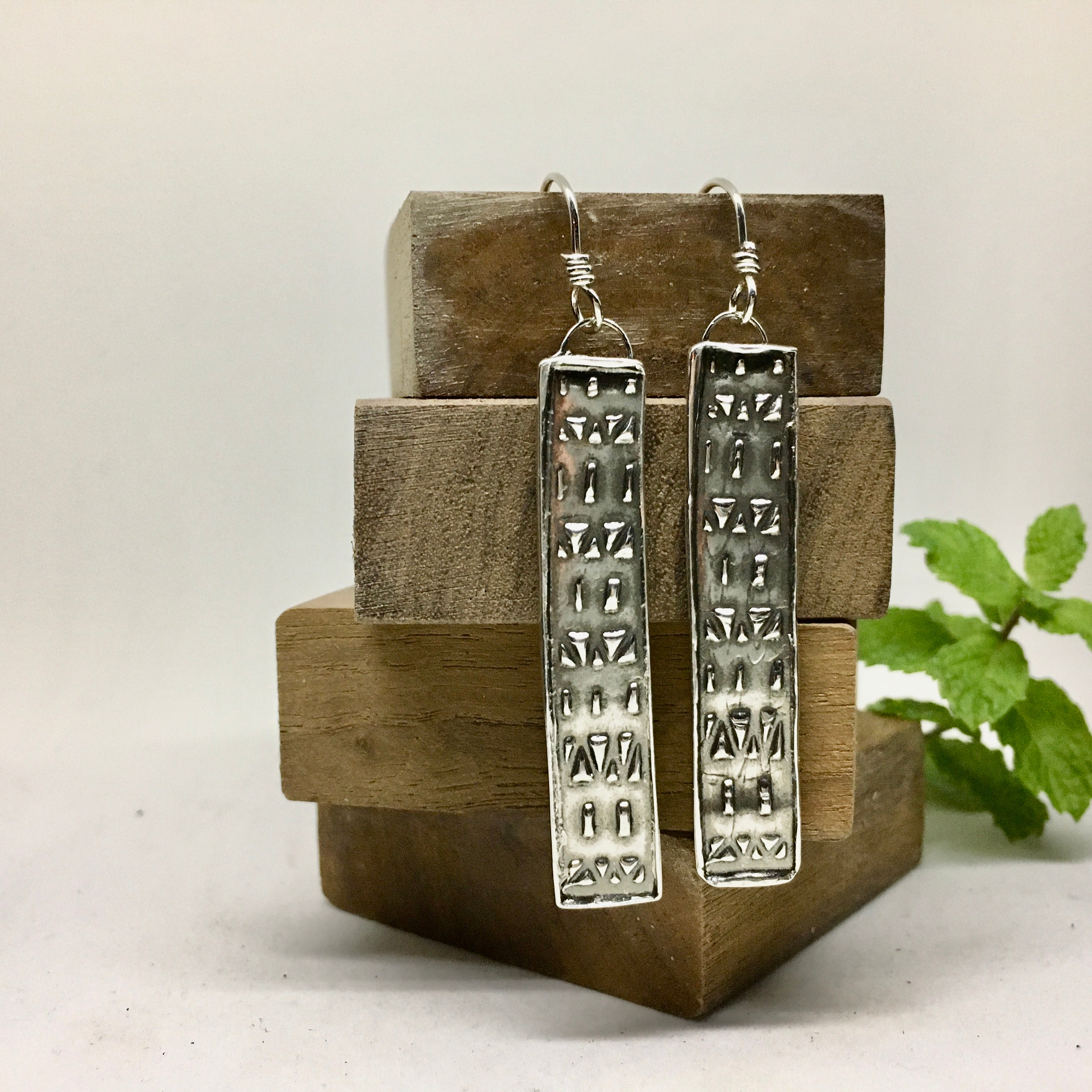 POMPEII REFLECTION EARRINGS