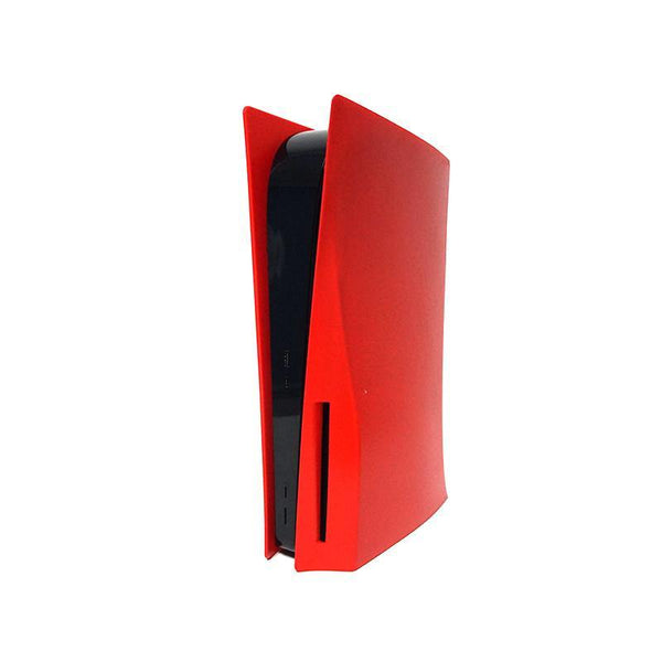 RED PLAYSTATION 5 FACE PLATES - WWW.FACEPLATESTATION.COM