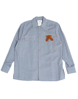 Load image into Gallery viewer, 21SS15SH91 / CHECK SHIRT WITH MY FRIEND /152175211001