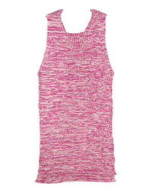 Load image into Gallery viewer, A8ST02WR / MIX WIDE RIB KNIT SQUARE NECK TANK リブニットタンクトップ / 681178181001