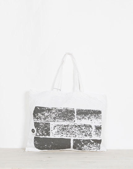 "Load image into Gallery viewer, ishigurabag / GEA ORIGINAL ECO BAG LARGE ""ishigura"" / 784020202002"