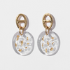 Best Gold Jewelry Gift | Best Aesthetic Yellow Gold Crystal Earrings Jewelry Gift for Women, Girls, Girlfriend, Mother, Wife, Daughter | Mason & Madison Co.