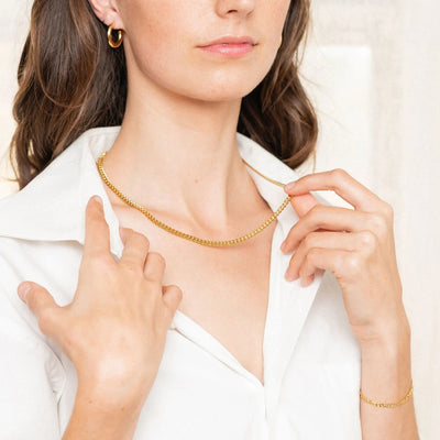 Best Gold Jewelry Gift | Best Aesthetic Yellow Gold Chain Necklace Jewelry Gift for Women, Girls, Girlfriend, Mother, Wife, Daughter | Mason & Madison Co.
