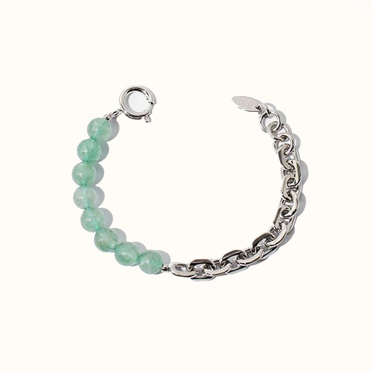 Best Silver Jade Jewelry Gift | Best Aesthetic Silver Jade Bracelet Jewelry Gift for Women, Girls, Girlfriend, Mother, Wife, Daughter | Mason & Madison Co.