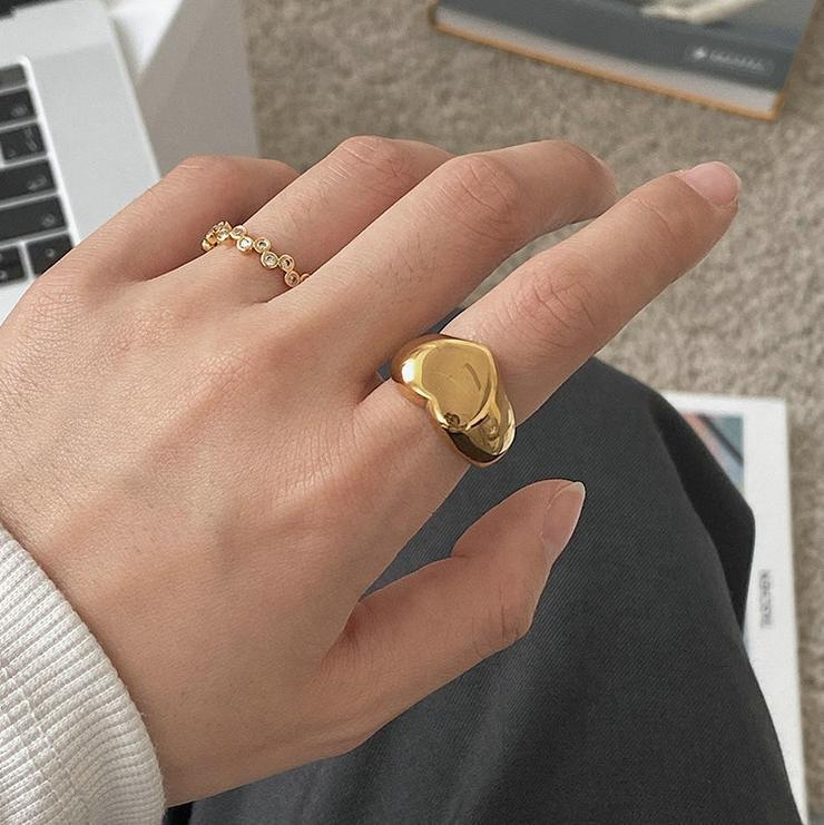 Best Gold Jewelry Gift | Best Aesthetic Yellow Gold Ring Jewelry Gift for Women, Girls, Girlfriend, Mother, Wife, Daughter | Mason & Madison Co.