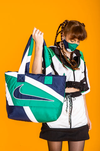 PUFFED WORKBAG BLUEGREEN NIKE