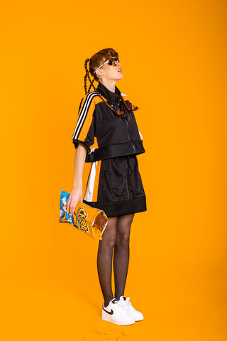 ENSEMBLE // ZIPPED JACKET & SKIRT ADIDAS