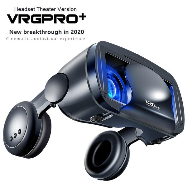 2020 NEW VR Helmet 3D Glasses Virtual Reality Support 0-800 Myopia For Smartphone Smart Phone Headset Goggles Binoculars
