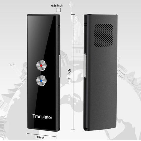 NEW Portable Smart Voice Translator Global Offline Translator Interpreter Translator Intelligent Translation Russian Translation