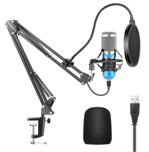 Neewer USB Microphone Cardioid Condenser Podcast Microfono(Mexico has no stock and will not ship after the order is placed)