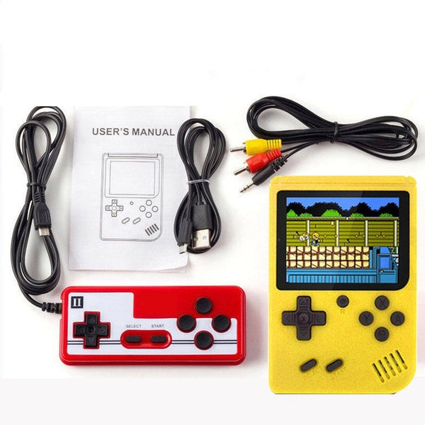 Portable Mini Retro Game Console Handheld Game Player 3.0 Inch 500 Games IN 1 Pocket Handheld Video Game Console Children's Gift