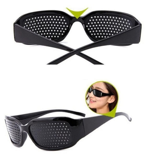 Vision Care Wearable Corrective Glasses Improver Stenopeic Pin Hole Glasses Anti-fatigue Eye Protection High Quality