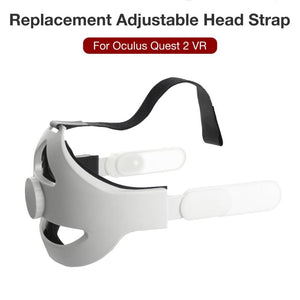 Adjustable Headband Comfortable Elite Strap For Oculus Quest 2 VR Headset Replacement Head Strap Virtual Reality Accessories