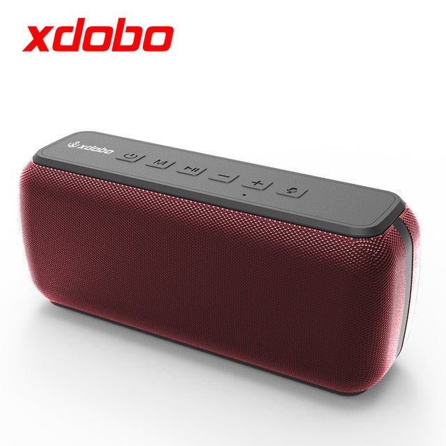 XDOBO X8 5.0 Bluetooth 60W Portable Speaker Deep Bass Soundbar with IPX5 Waterproof Speaker 360° Surround Sound Voice Assistant