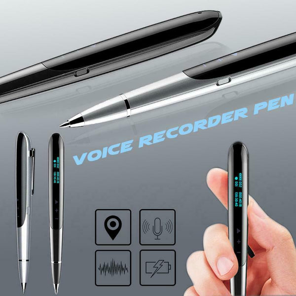 Voice Recorder Pen Voice Activated Recording Meeting Course Records MP3 Player Portable Universal Noise Reduction Dictaphone