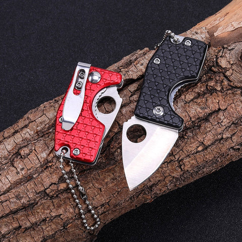 Mini Folding Knife EDC Tactical Pocket Knife Compact Utility and Multi-Function Every Day Carry Hiking Accessories Women Gift