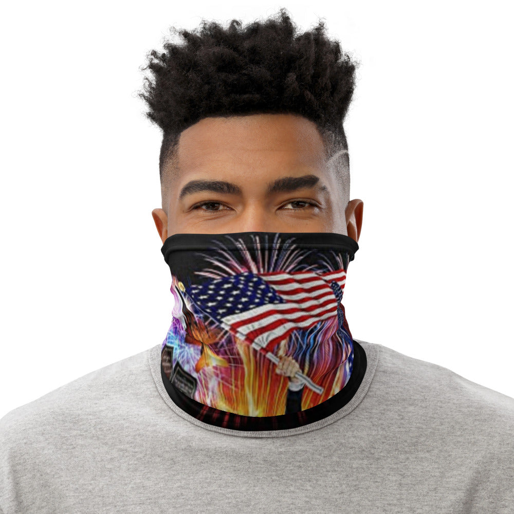 Trump War Eagle Neck Gaiter