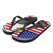 Load image into Gallery viewer, Patriot Eagle Flip-Flops