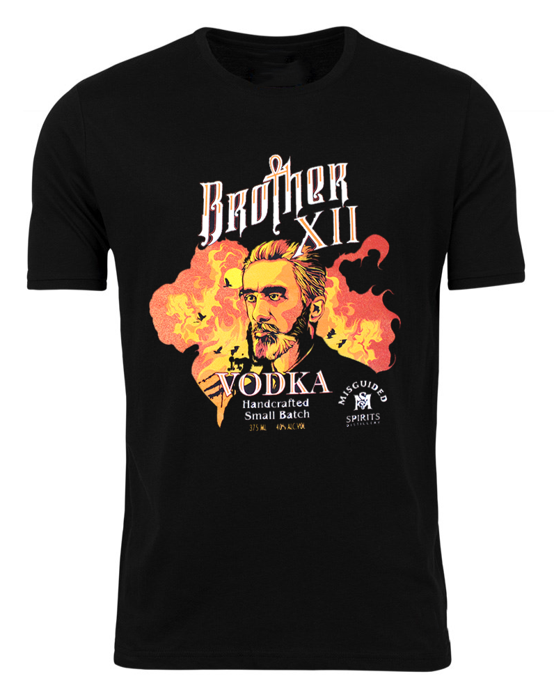 Brother XII T-Shirt - Misguided Spirits Craft Distillery