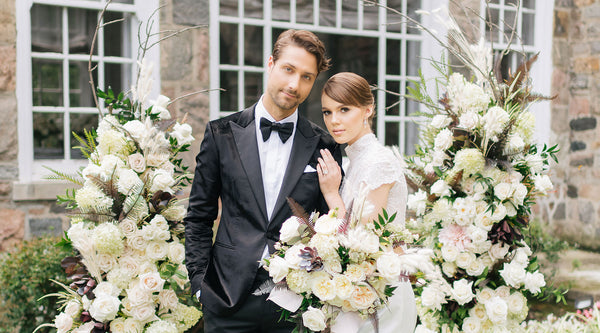 Chic Black & White Wedding Theme for the Modern Romantic in You