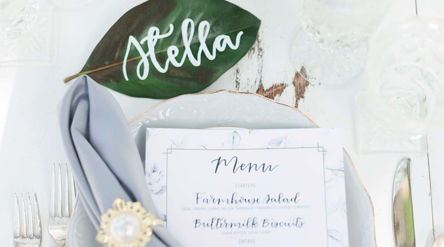 celebration table for the wedding