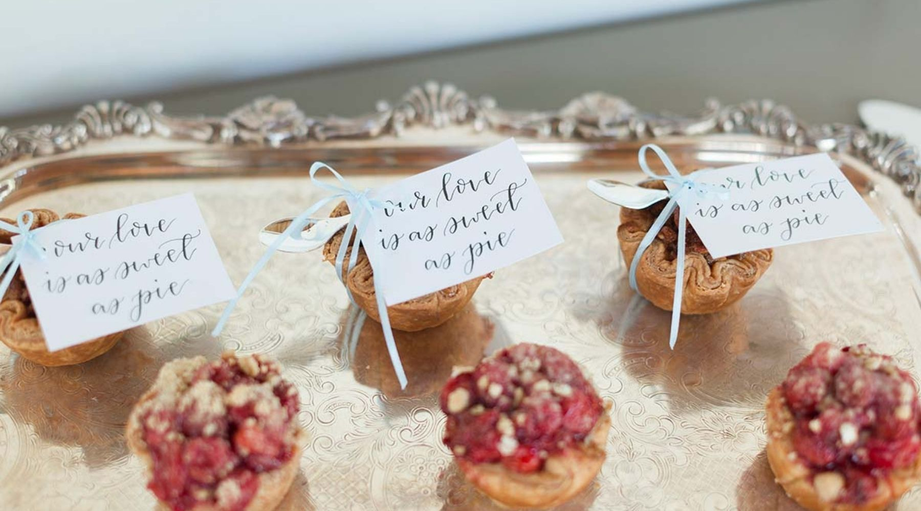 sweets on a wedding celebration table