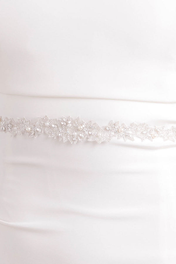 Spark Wedding Sash - Sample Sale